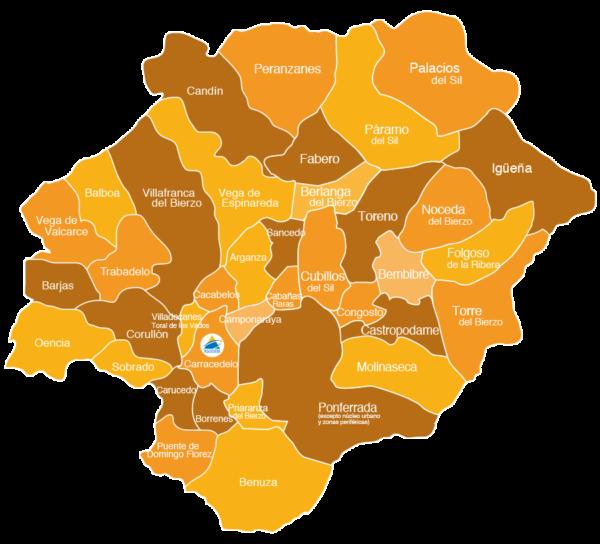 Mapa de intervención Asodebi